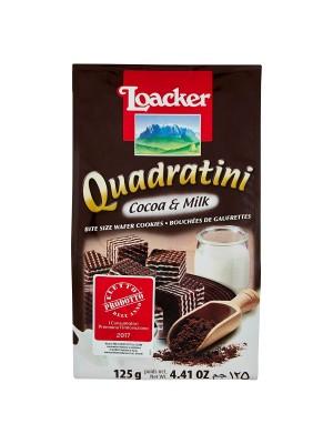Loacker Cocoa And Milk 125gm