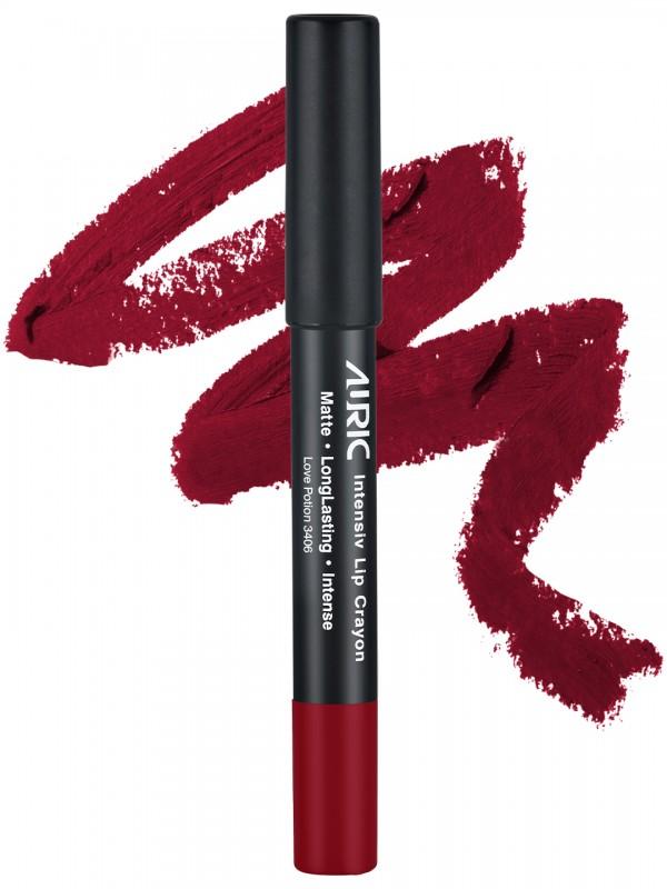 Auric Intensiv Lip Crayon Love Potion Lipstick