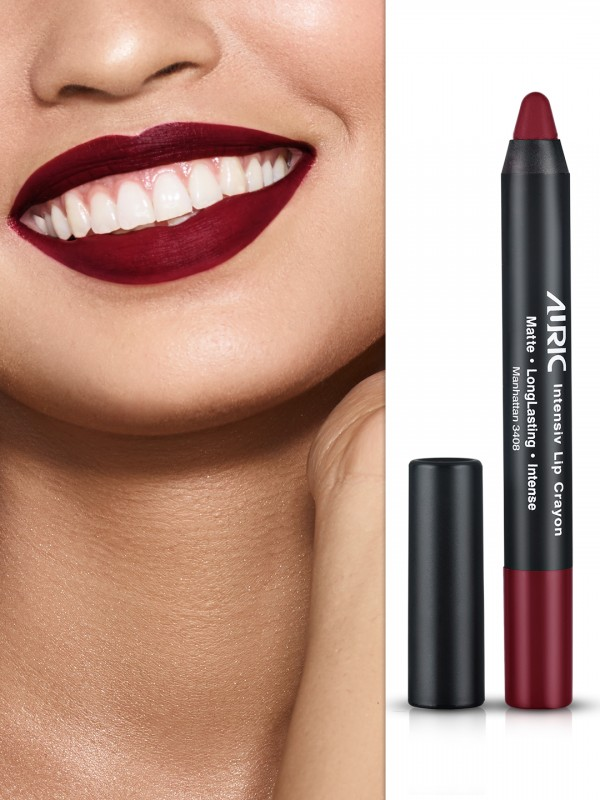 Auric Intensiv Lip Crayon Manhattan Lipstick