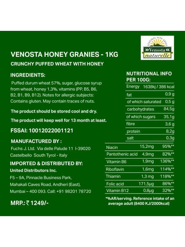 Venosta Honey Granies 1 Kg