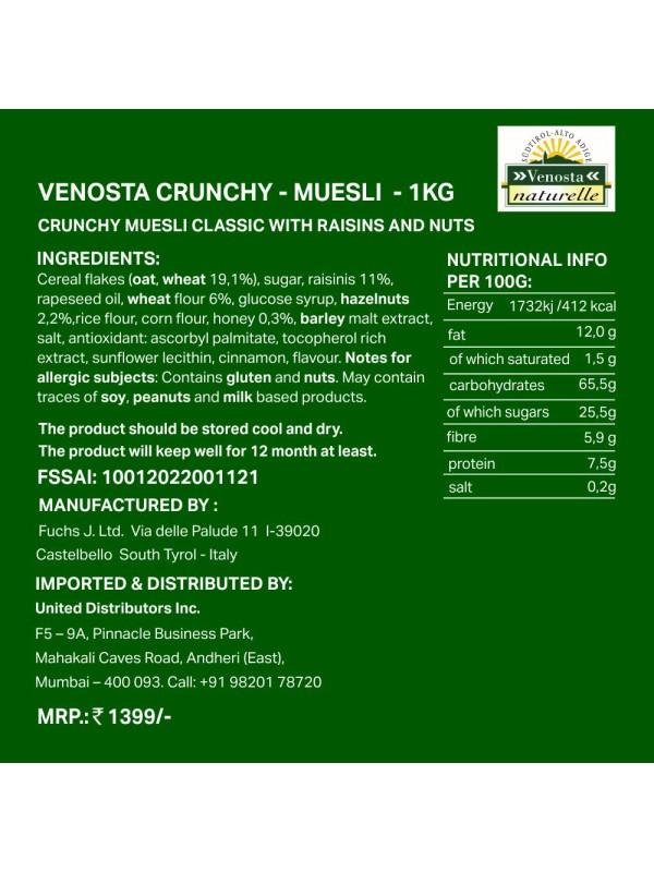 Venosta Crunchy Classic 1Kg