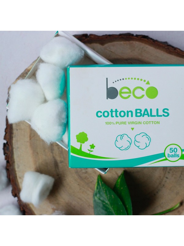Beco Cotton Balls 50 Pcs