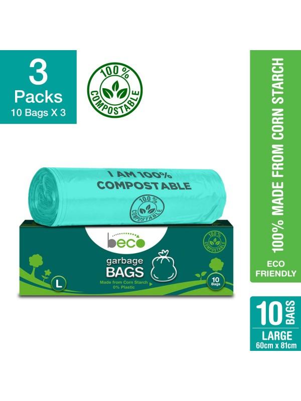 Beco Garbage Bags - L 10 pcs