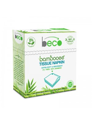 Beco Sustainable Bamboo Serving Napkins 50 Pieces