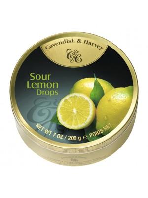 Cavendish & Harvey Sour Lemon Drops 200gm