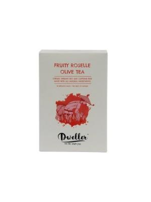 Dweller Fruity Roselle Olive Tea 18  Tea Bags