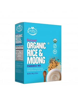 Early Foods Organic Rice & Moong Khichdi Mix 200g