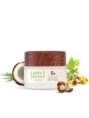 Puresense Macadamia Renewing Night Cream Sulphate & Paraben Free 50 ml