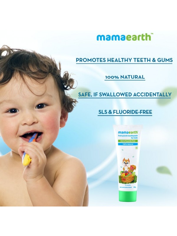Mamaearth Fruit Punch Toothpaste 50gm