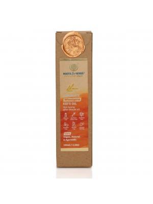 Roots & Herbs Luxuriate Wheatgerm KidS After Shower Oil 100 ml