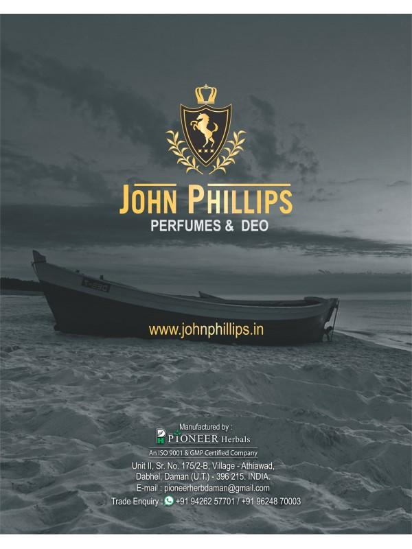 John Phillips Smog Cool Blue Mens Perfume 120 ml