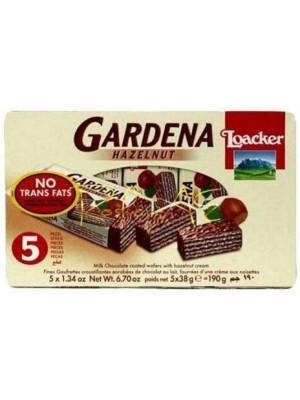 Loacker Gardena Hazelnut 190gm