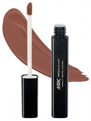Auric Mattifying Lip Liquid Toasted Almond