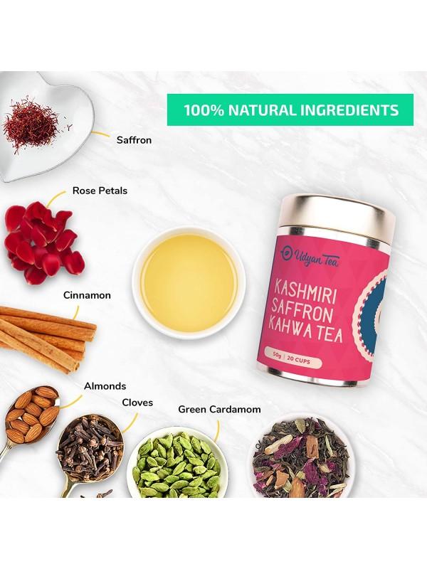 Udyan Tea Kashmiri Saffron Kahwa 50 g
