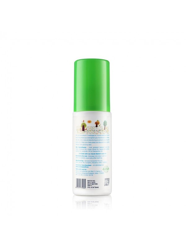 Mamaearth Soothing Massage Oil 100 ml