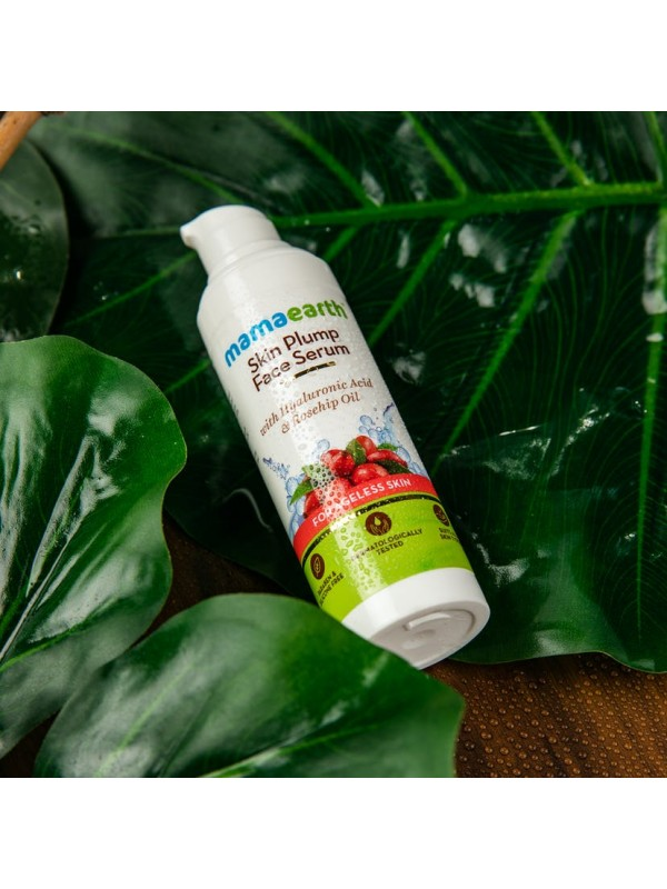 Mamaearth Skin Plump Serum For Face Glow 30 ml
