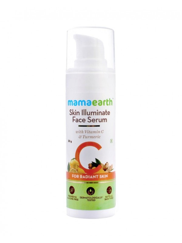 Mamaearth Skin Illuminate Face Serum For Radiant Skin 30gm