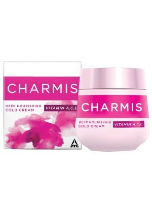 Charmis Deep Nourishing Cold Cream 175ml with Vitamin A, C & E (Set of 2)