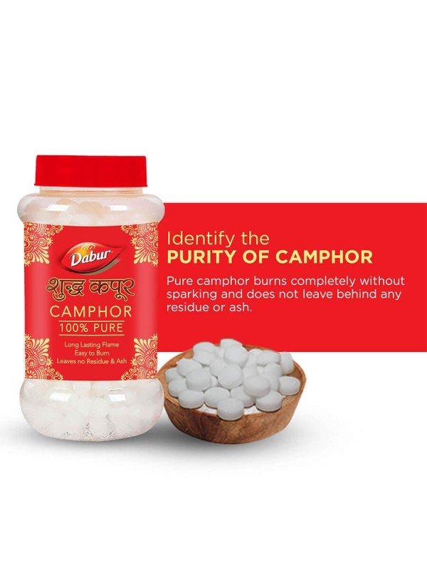 Dabur 100% pure Camphor 20 gm