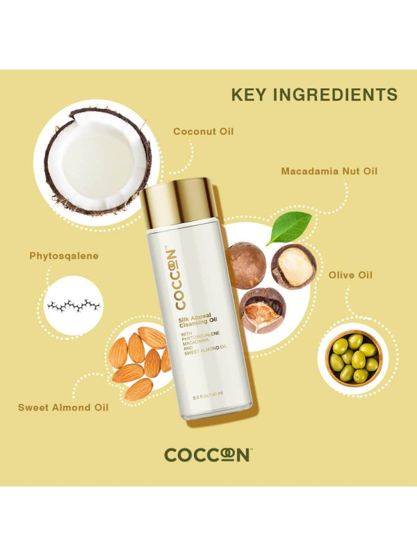 Coccoon Silk Appeal Cleansing Oil 100 ml