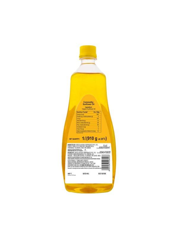 24 Mantra Cold Expeller Pressed Sunflower Oil 1L
