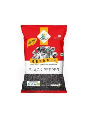 24 Mantra Black Pepper Whole 50 gm