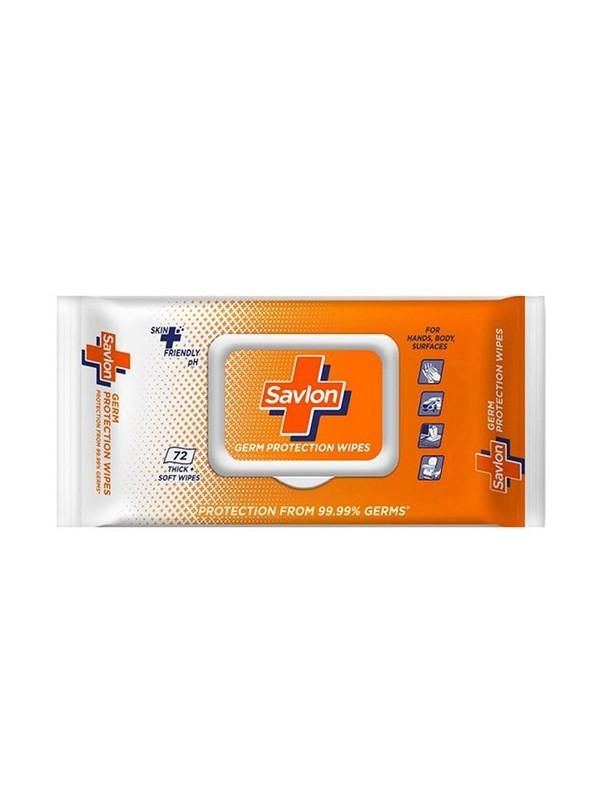 Savlon Germ Protection Wet Wipes (72 wipes)
