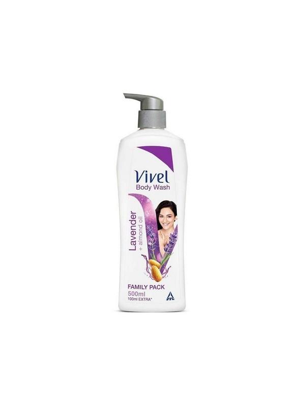 Vivel Body Wash Lavender and Almond Oil 500 ml
