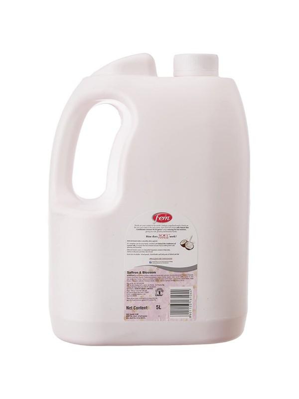 Dabur Fem Soft Handz Soap Handwash Saffron & Blossom 5L