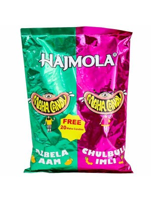Dabur Hajmola Maha Aam Imli Candy 130 Pieces