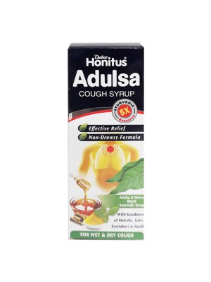 Dabur Honitus Adulsa Cough Syrup 100ml