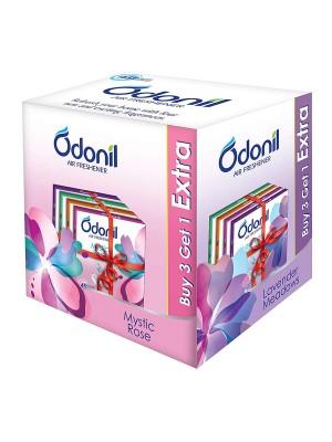 Dabur Odonil Bathroom Air Freshener Blocks - 75g (Buy 3 get 1)