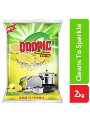 Dabur Odopic Lime Dish Wash Powder 2 Kg