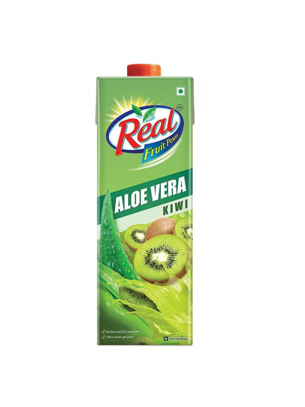 Dabur Real Aloe Kiwi Pouch 1 L