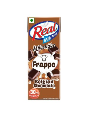 Dabur Real Frappe Milkshake - Belgian Chocolate 180ml