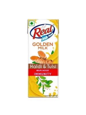 Dabur Real Golden Milk - Haldi & Tulsi 180 ml