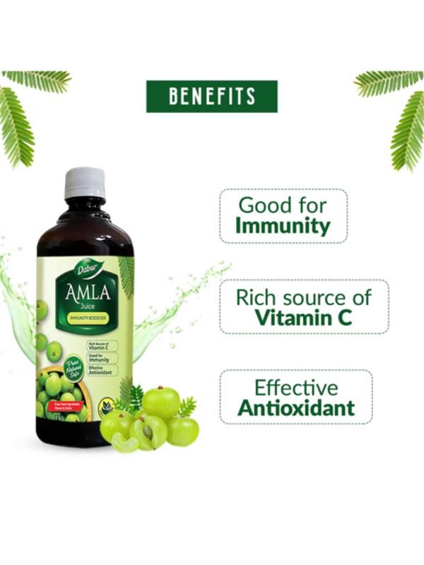 Dabur Amla Plus Immunity Booster Juice 1L
