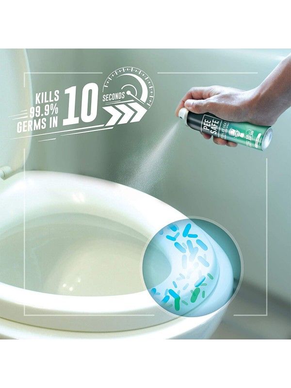 Dabur Sanifresh Pee Safe Toilet Seat Sanitizer Spray 75ml (Mint)