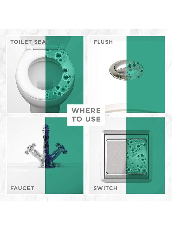 Dabur Sanifresh Pee Safe Toilet Seat Sanitizer Spray 75ml (Floral)