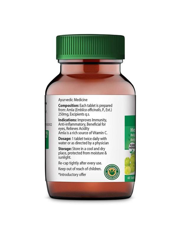 Dabur Amla Pure Herbs 60 Tablets