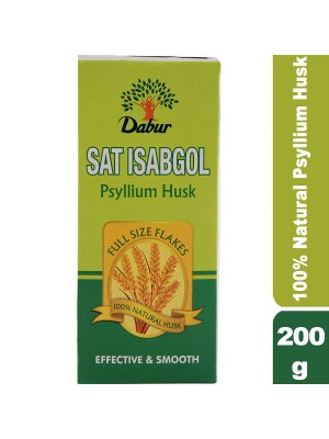 Dabur Sat Isabgol Effective Relief From Constipation 200 gm