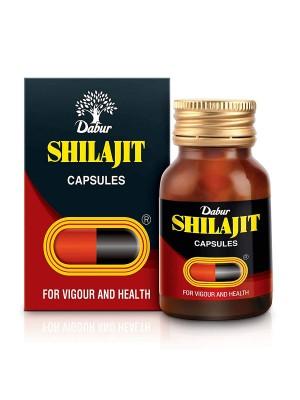 Dabur Shilajit for Vigour and Health - 100 Capsules