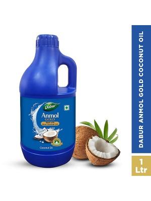 Dabur Anmol Gold Pure Coconut Hair Oil 1L