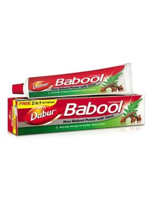 Dabur Babool Toothpaste 80 gms (Free Toothbrush)