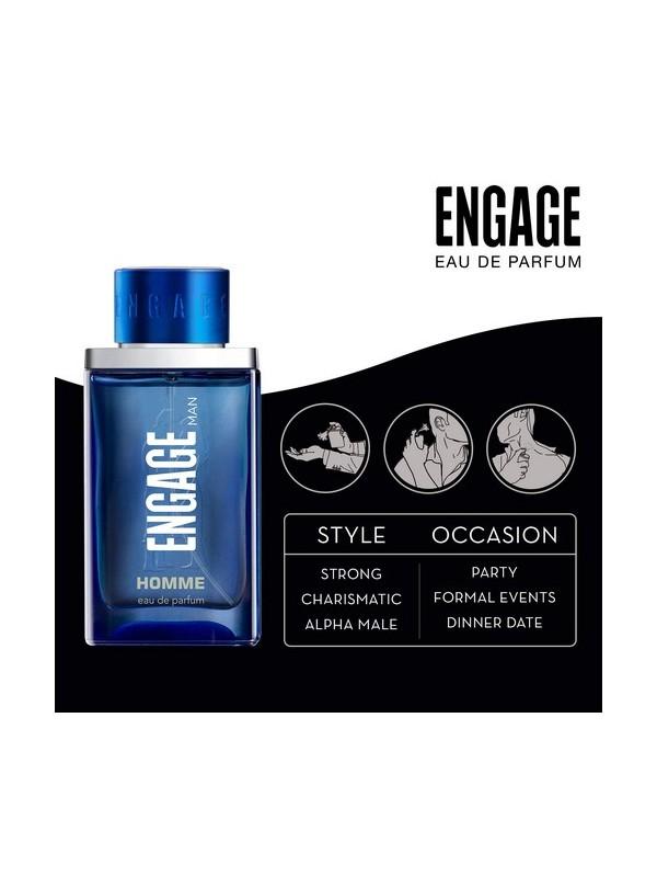Engage Eau De Parfum Man Homme 90ml