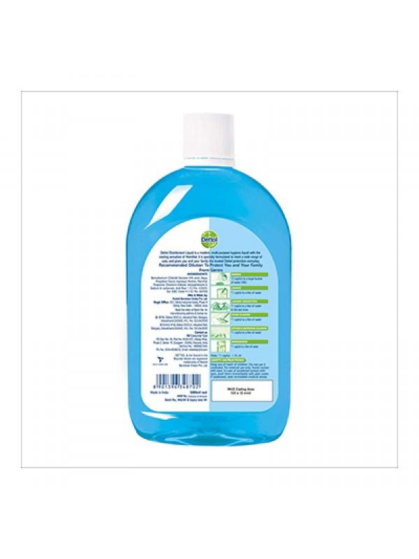 Dettol Liquid Disinfectant for Multi-Purpose Germ Protection, Menthol Cool - 500ml
