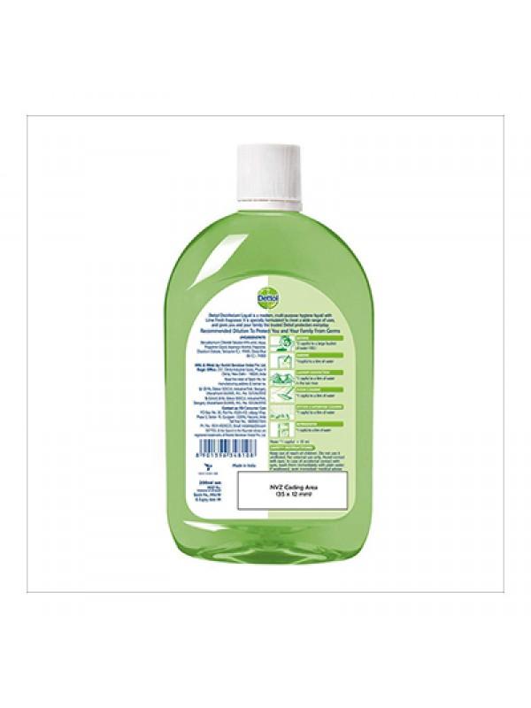 Dettol Liquid Disinfectant Cleaner for Home, Lime Fresh 200ml