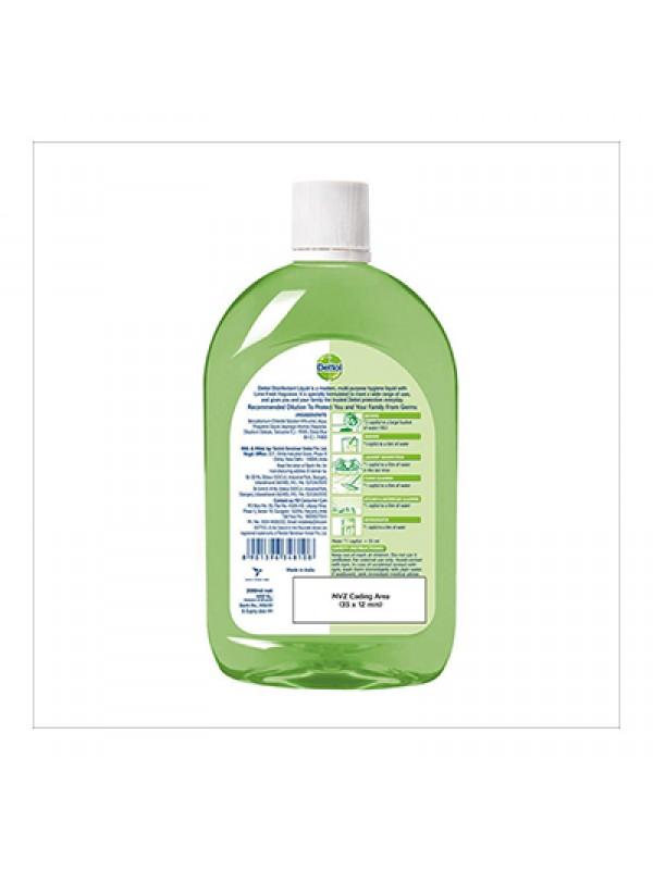 Dettol Liquid Disinfectant Cleaner for Home, Lime Fresh - 500ml