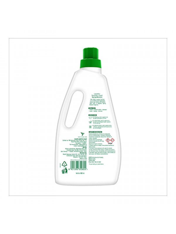 Dettol After Wash Liquid Laundry Sanitizer - Fresh Linen, 960ml