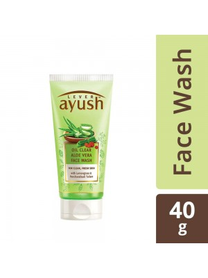 Lever Ayush Aloe Vera Oil Control Face Wash 40 gm